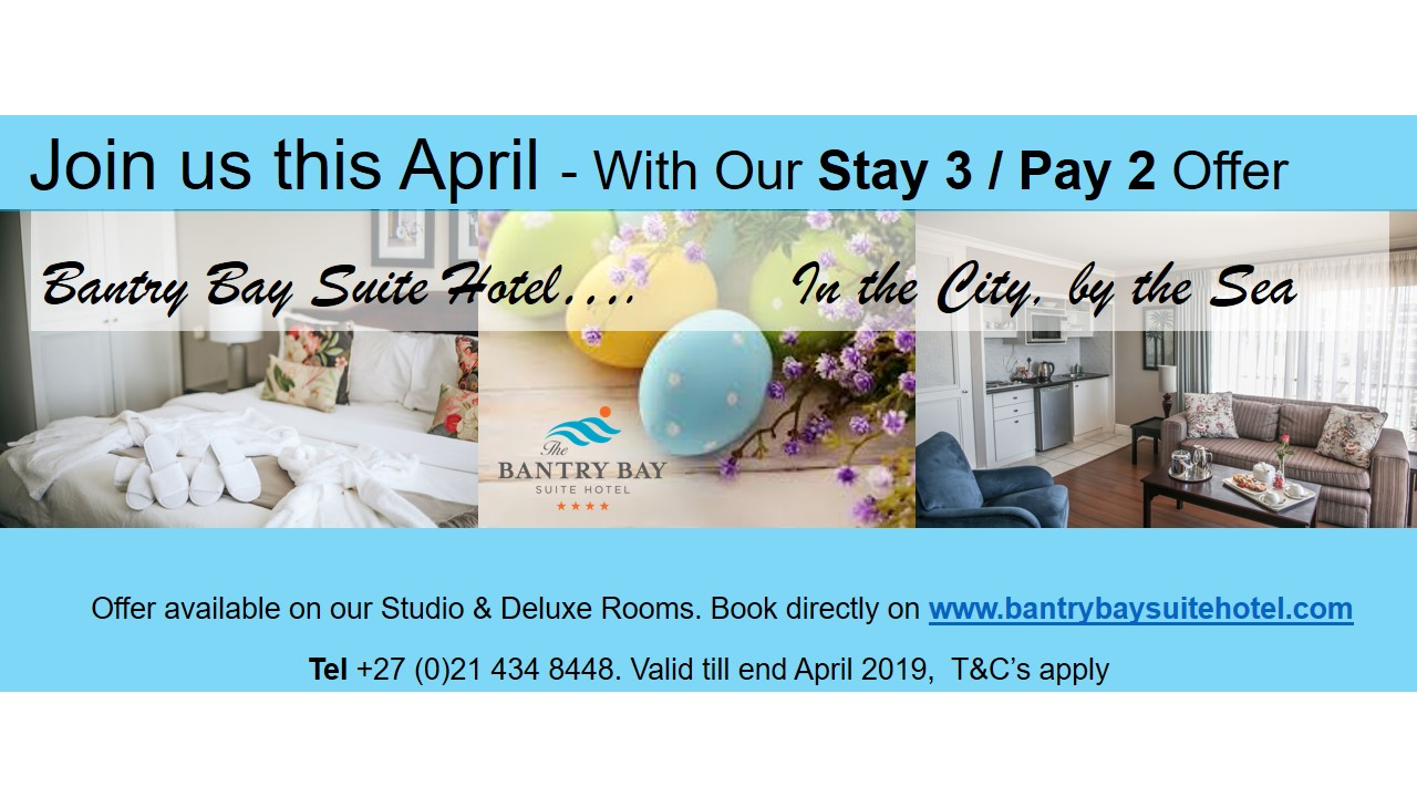 April Stay Pay Special