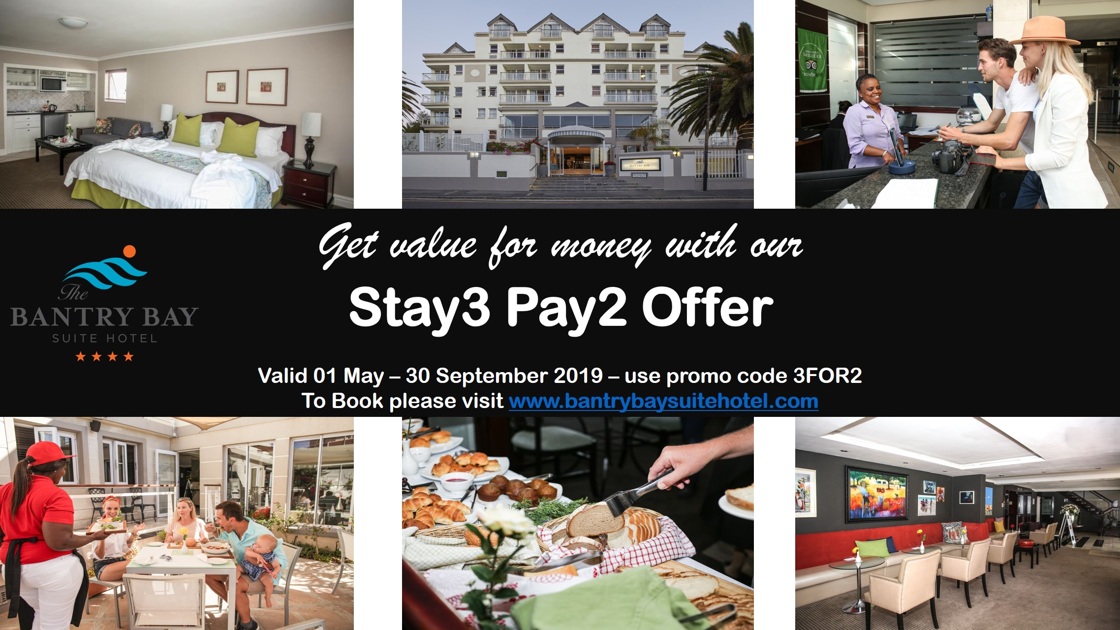Stay 3 Pay for 2